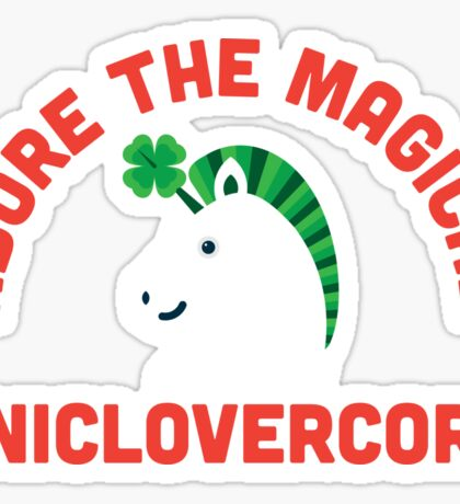 Adore the Magical Uniclovercorn Sticker