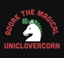 Adore the Magical Uniclovercorn Kids Tee