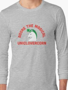 Adore the Magical Uniclovercorn Long Sleeve T-Shirt