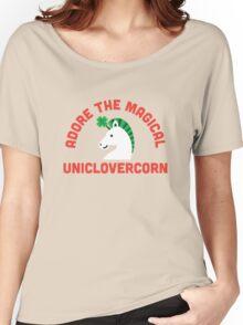 Adore the Magical Uniclovercorn Women's Relaxed Fit T-Shirt