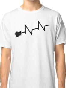 Guitar heartbeat Classic T-Shirt