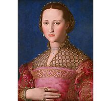 Agnolo Bronzino - Eleonora of Toledo 1543 Woman Portrait Photographic Print