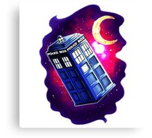 My Doctor Who Of The Moon Canvas Print