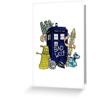 My Doctor Who Greeting Card
