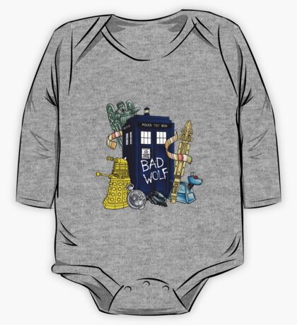 My Doctor Who One Piece - Long Sleeve