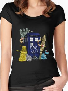 My Doctor Who Women's Fitted Scoop T-Shirt