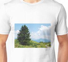 Landscape on Monte Zoncolan Unisex T-Shirt