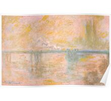 1902-Claude Monet-Charing-Cross Bridge in London-65 x 100 Poster