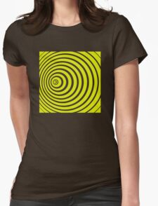 Doppler effect Womens Fitted T-Shirt
