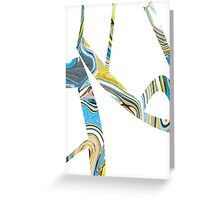 Funny Figure 4 Greeting Card