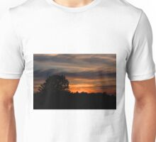 Sunset and clouds Unisex T-Shirt
