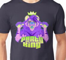Party King (Purple) Unisex T-Shirt