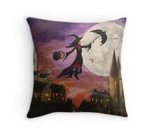 Mary Gothins Throw Pillow