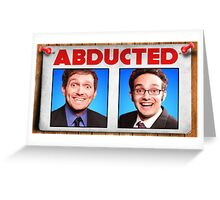 FineBros Abducted Greeting Card