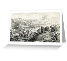 Darrynane Abbey - Ireland the Home of O'Connell - 1869 - Currier & Ives Greeting Card