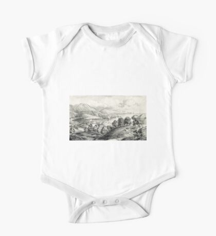Darrynane Abbey - Ireland the Home of O'Connell - 1869 - Currier & Ives One Piece - Short Sleeve