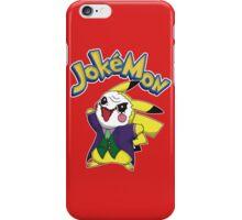 Pokemon Pikachu Jokemon iPhone Case/Skin