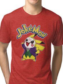 Pokemon Pikachu Jokemon Tri-blend T-Shirt