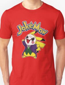 Pokemon Pikachu Jokemon Unisex T-Shirt