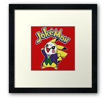 Pokemon Pikachu Jokemon Framed Print
