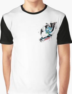 Fairy Tail (Happy), Anime Graphic T-Shirt