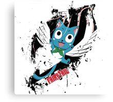 Fairy Tail (Happy), Anime Canvas Print