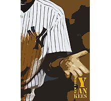 Yankees baseball team Photographic Print