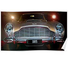 Bond -James Bond's umm car. Poster