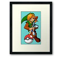 Zelda Pokemon Framed Print