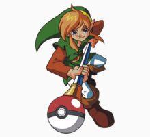 Zelda Pokemon One Piece - Short Sleeve
