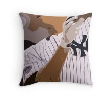 Baseball, New York Yankees, and bat Throw Pillow