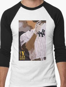 Baseball, New York Yankees, and bat Men's Baseball ¾ T-Shirt