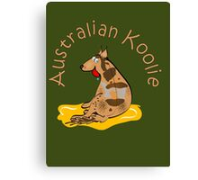 Australian Koolie 2 Canvas Print