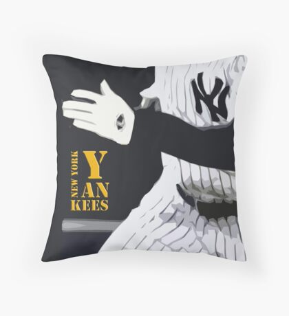 New York Yankees, run! Throw Pillow
