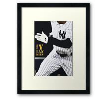 New York Yankees, run! Framed Print