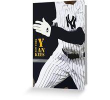 New York Yankees, run! Greeting Card
