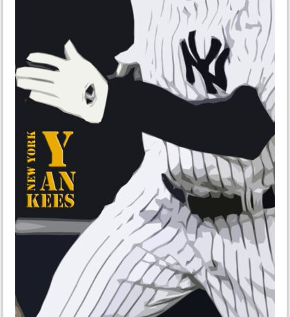 New York Yankees, run! Sticker
