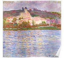 1902-Claude Monet-Vétheuil-90 x 93 Poster