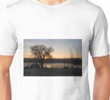 Forest Mere Sunrise Unisex T-Shirt