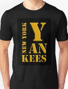 New York Yankees typography T-Shirt