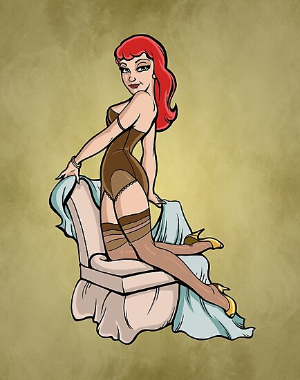 Pin Up Cutie by Joey Gates