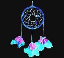 Dreamcatcher in indigo shades Unisex T-Shirt
