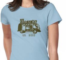 Carolina Or Bust! Womens Fitted T-Shirt