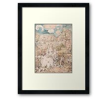 Albrecht Durer  - Mary among a Multitude of Animals,  1503 Woman Portrait Fashion Framed Print