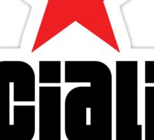 Socialist Revolutionary Red Star Sticker