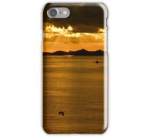 ...sunset over Greek waters .. iPhone Case/Skin