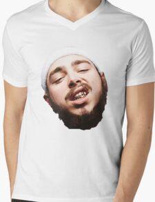 Post Malone - White Iverson Mens V-Neck T-Shirt