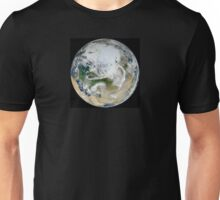 North pole - Space view Unisex T-Shirt