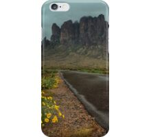 Road to the Superstitions iPhone Case/Skin