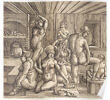 Albrecht Durer  - Women s Bath  1505-1510 Poster